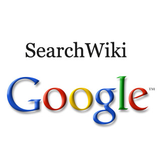 Google SearchWiki is one of Google's Social Media Plays