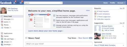 Facebook's New Look
