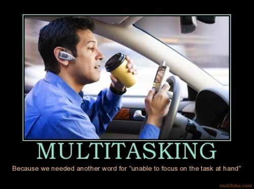 social media mutli-tasking