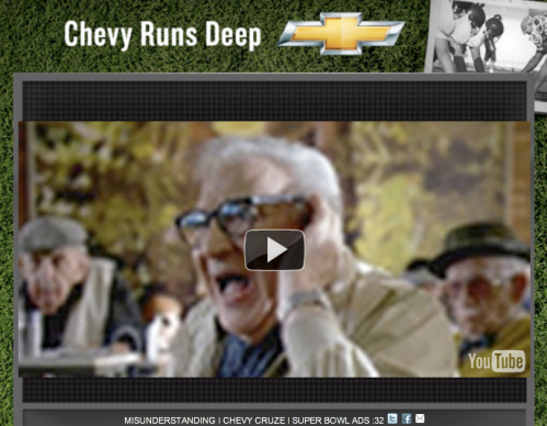 chevy super bowl ad old people